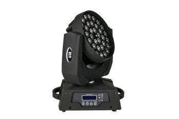 36adet 10W RGBW renk karışımı 4in1 Zoom Led DJ sahne ışıkları DJ için kafa yıkama sahne aydınlatma