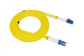 Tek Modlu Çift Çekirdekli Fiber Optik Bağlantı Kablosu LC-LC Kablosu 100m