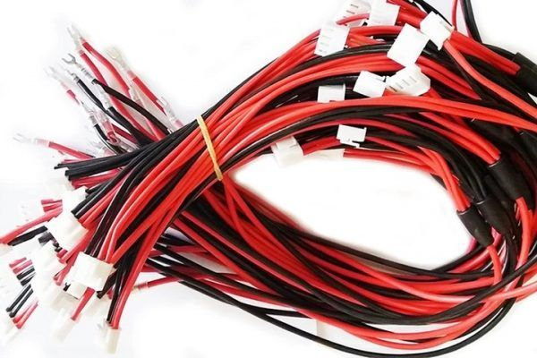 1 to 2 4Pin DC5V Fine Copper LED Screen Modules Power Cable