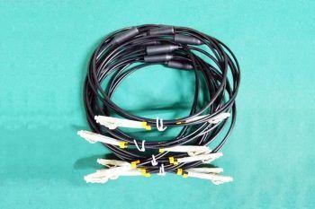 Çok Modlu Çift Çekirdekli Fiber Optik Bağlantı Kablosu LC-LC Kablosu 100m