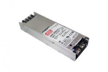 Το Meanwell UHP-200A Series UHP-200A-5 LED εμφανίζει ισχύ