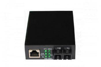 Linsn LED-Anzeigezubehör SC801 Single Mode Ethernet Media Converter