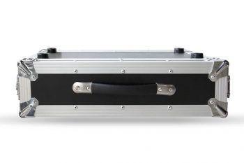 2U Uçuş Çantası LED Video İşlemcisi Alüminyum Uçuş Çantası Saklama Kutusu