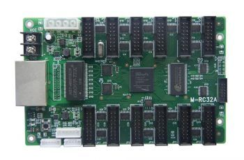 Moocell M-RC32A EMC LED displeyni boshqarish kartasi o'rnatilgan HUB75