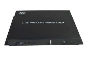 Huidu HD-A601 កម្មវិធីចាក់ពណ៌ភ្លឺដូច Async Dual Mode LED Display Player