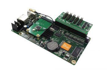 HUIDU D30, 1024X64, hreyfimerki, TAXI, BUS leiddi skilti stjórnkort þráðlaust USB