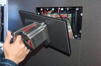 P2.5 מקורה 640x480 למות יצוק מגנטי מול שירות וידאו מסך LED