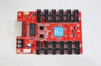 កាតទទួលកាតព៌ណ LED ពណ៌ពេញ HUIDU HD-R512
