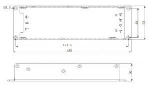 t300v5a1-t1 napajanje LED zaslona