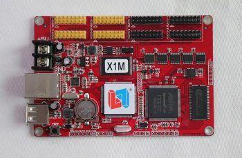 X1M LED displeyini to'liq rangli asenkron LED boshqaruv kartasini tinglang