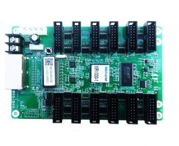 hub75와 통합 된 novastar mrv330-1 수신 보드
