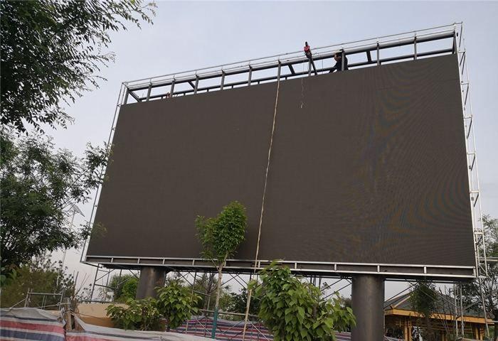 lauko LED reklaminiai stendai